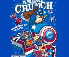 cereal capitan america