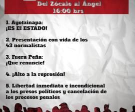 1 de diciembre protestas
