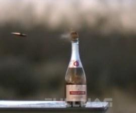 botella disparo