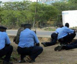 kenia policías