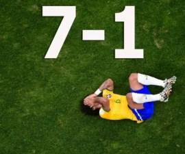 Brasil 1-7 alemania