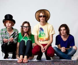 Backstage portrait photos at Splendour in the Grass for Faster Louder. Woodfordia, Queensland 2010.
