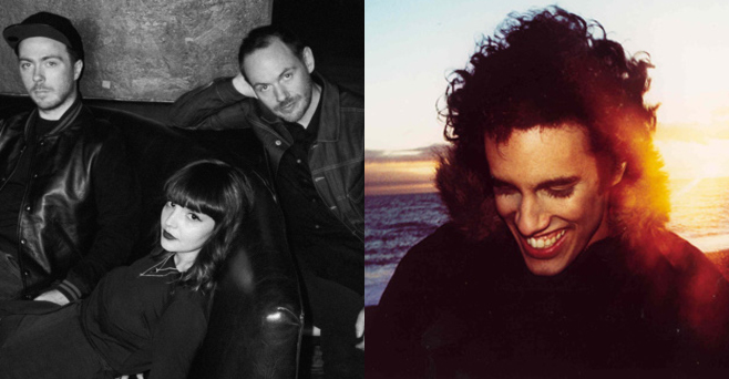 Four Tet and Chvrches