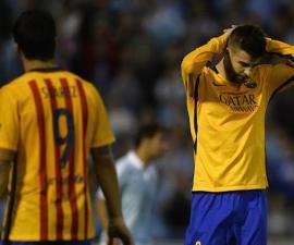 barcelona pierde celta