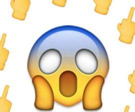emoji dedo
