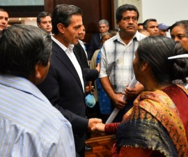 reunión 2014 epn padres ayotzinapa