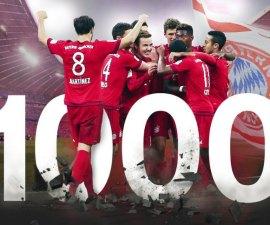 1000 victorias bayern munich