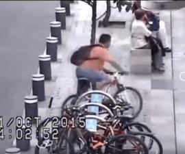 ladrón bicicleta cdmx