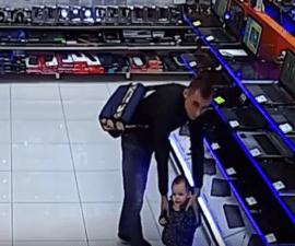 robo con niño