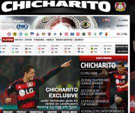 chicharito web bundesliga