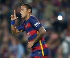 neymar goleada barcelona