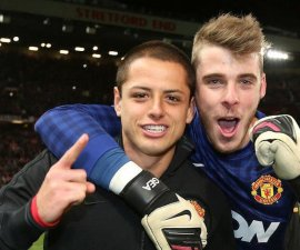 chicharito de gea