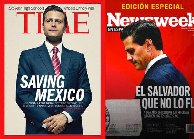 EPN portada Time newsweek