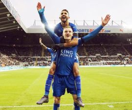 mahrez vardy premier league