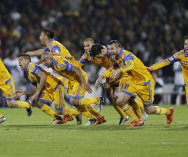 Football Soccer - Pumas v Tigres - The second leg of their Mexican first division final soccer match, in Mexico City