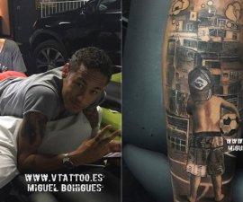 tatuaje neymar
