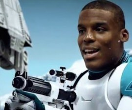 cam newton star wars