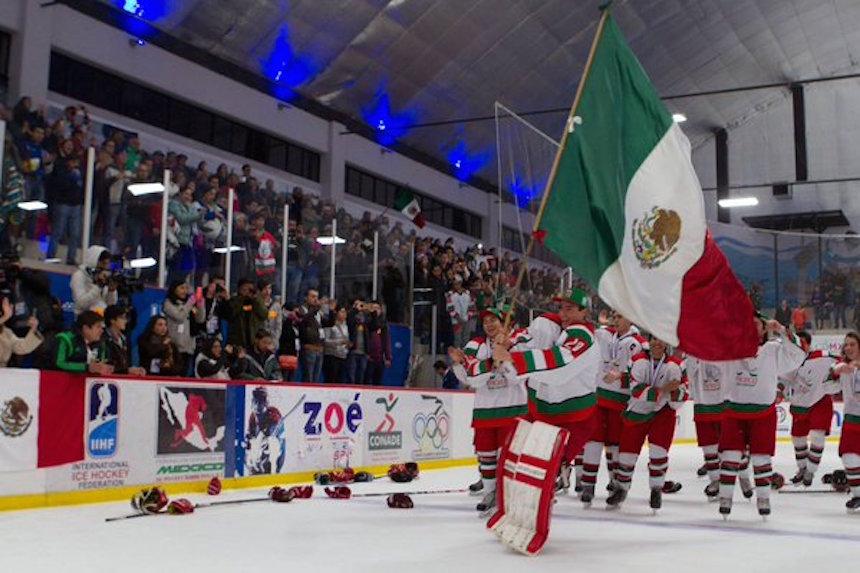 mexico hockey hielo