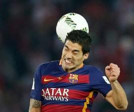 FC Barcelona's Luis Suarez in action Reuters / Yuya Shino