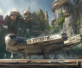 Star Wars Land Conceptual Art
