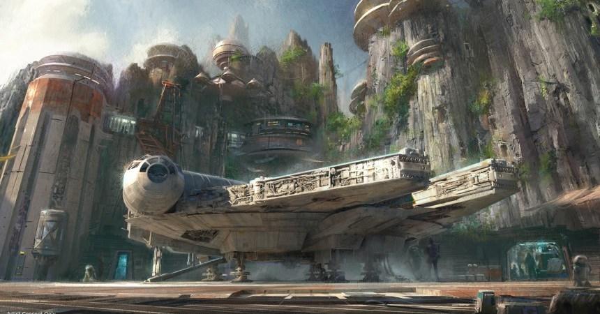 Star Wars Land Conceptual Art