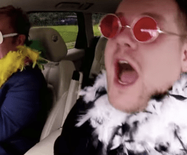 Elton John Carpool Karaoke James Corde