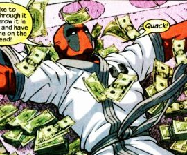 deadpool and money