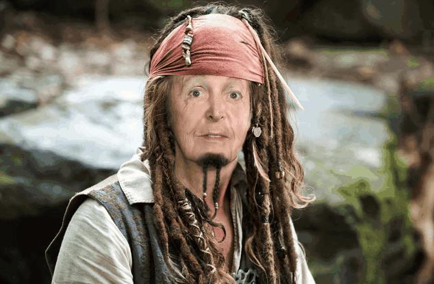 Paul McCartney Piratas del Caribe