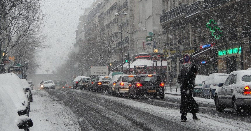 rain-snow-city