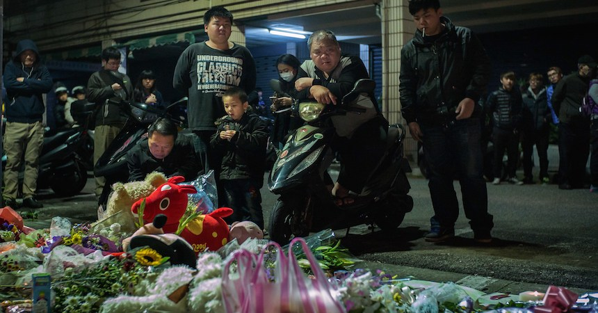 Toddler Decapitated On Taiwan Street