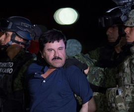 Mexican Drug Dealer Joaquin 'El Chapo' Guzman is Captured in Mexico