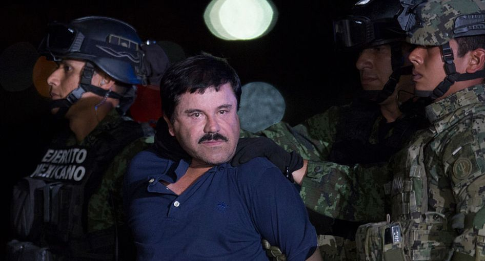 Mexican Drug Dealer Joaquin 'El Chapo' Guzman is Captured in Mexico