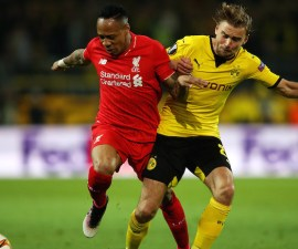 Borussia Dortmund v Liverpool - UEFA Europa League Quarter Final: First Leg