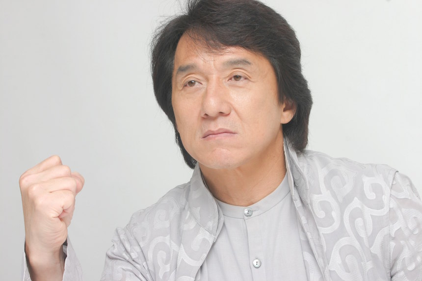 CA: Jackie Chan Portrait Session
