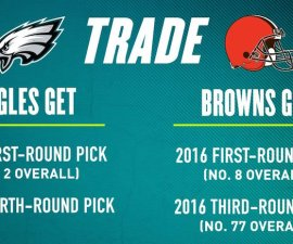 eagles browns trade