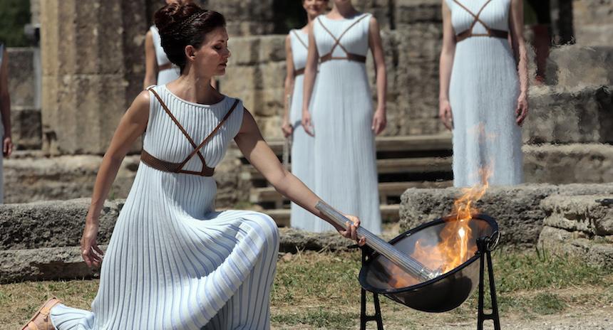 encendido antorcha olimpica 2016