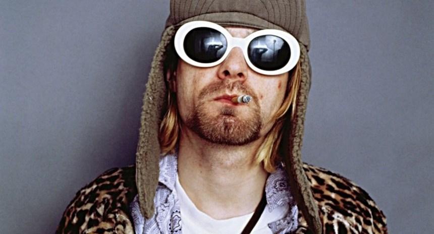 August 1993 --- Singer Kurt Cobain Smoking Cigarette --- Image by ?Jesse Frohman/CORBIS OUTLINE