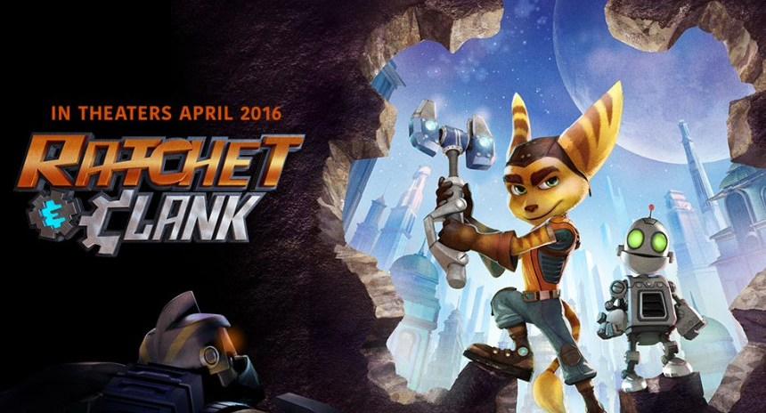 ratchet and clank película