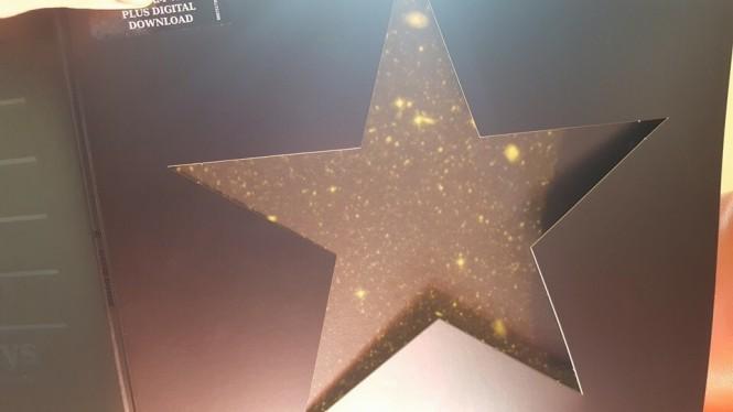 blackstar estrellas dorada