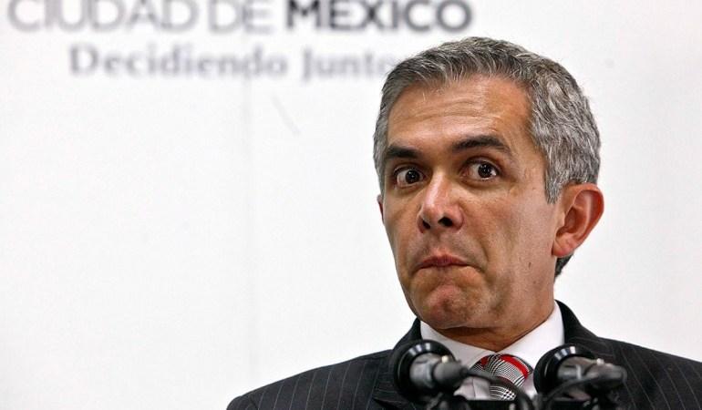 Miguel Angel Mancera Jefe de Gobierno CDMX