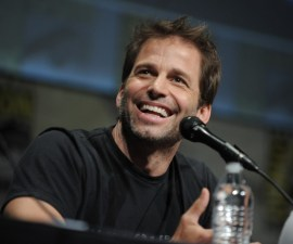 "Zack Snyder speaks at ""Man of Steel"" panel 2012 Comic Con on Saturday, July 14, 2012 in San Diego, Calif. (Photo by Jordan Strauss/Invision/AP)"