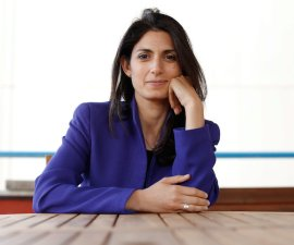 Virginia Raggi, the anti-establishment 5-Star Movement's candidate for Rome mayor, poses during an interview with Reuters in Rome, Italy May 19, 2016. Picture Taken May 19, 2016. REUTERS/Tony Gentile