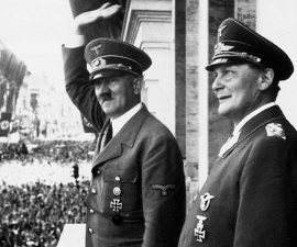 Adolf Hitler and Hermann Goering