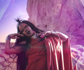 video rihanna star trek