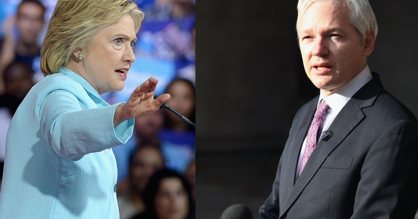 Hillary-Clinton-Julian-Assange