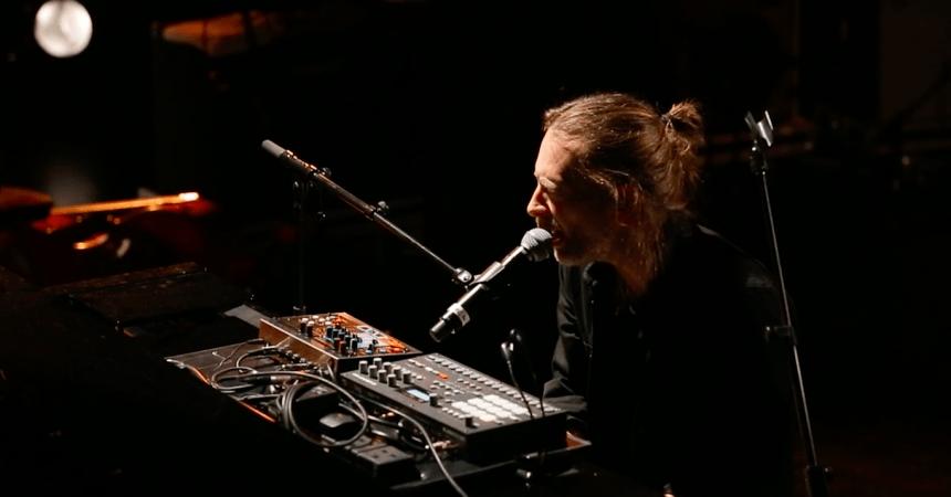 Thom Yorke paris