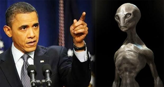 obama extraterreste