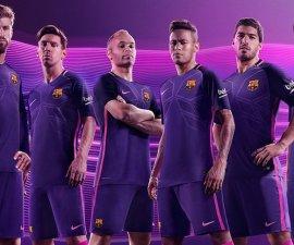 uniforme visitante barcelona 2016