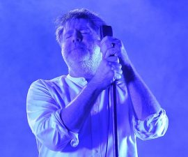 LOS ANGELES, CA - AUGUST 28:  Singer James Murphy of LCD Soundsystem performs onstage during FYF Fest 2016 at Los Angeles Sports Arena on August 28, 2016 in Los Angeles, California.  (Photo by Kevin Winter/Getty Images for FYF)