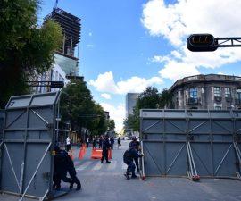 60804075. México, 4 Ago 2016 (Notimex- Especial).- La Policía Federal retiró las vallas metálicas que se encontraban en la calle de Bucareli esquina Ayuntamiento. Así se abrió la circulación vehicular en esta zona de la Ciudad de México. NOTIMEX/FOTO/ESPECIAL/COR/HUM/